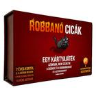 Pisicile explozive - joc de cărţi cu instrucţiuni în lb. maghiară