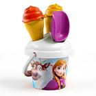 Disney hercegnők: Jégvarázs fagyis homokozó szett - 13 cm