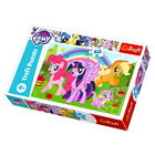 Trefl: My Little Pony cu curcubeu puzzle cu 60 piese