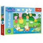 Trefl: Peppa Pig distracţia de vară puzzle cu 60 piese