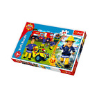 Trefl: Pompierul Sam puzzle maxi cu 24 piese