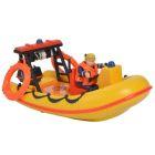 Pompierul Sam: Barca Neptune cu figurina Penny Morris şi accesorii