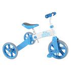 YVelo: bicicletă 2-în-1 de culoare albastru