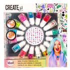 Create it! Set lac de unghii - 16 piese
