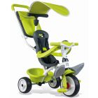 Smoby: Baby Balade tricikli - zöld
