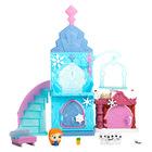 Doorables: Seturi tematice - Castelul de gheaţă Frozen