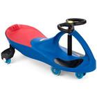 BoboCar Mașinuță fără pedale cu roţi din cauciuc - albastru