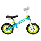 Stamp: bicicletă fără pedale - albastru
