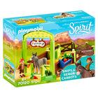 Playmobil Spirit: Grajd şi copil cu morcovi - 70120