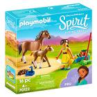 Playmobil Spirit: Pru cu căluţ şi mânz - 70122