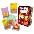 Sushi Go - joc de cărţi cu instrucţiuni în lb. maghiară