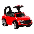 Maşinuţă fără pedale - de culoare roşie