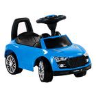 Autós bébitaxi - kék
