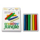 Creative Jungle: 6 buc. plastilină colorată - 100 g