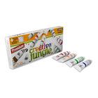 Creative Jungle: set 12 tuburi de tempera cu imagine de colorate - 12 x 16 ml