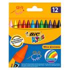 BIC Kids: set 12 buc. pastele