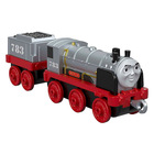 Thomas Trackmaster: Push Along Metal Engine - Locomotiva Merlin