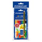 Staedtler: 12 darabos színes ceruza - ajándék grafitceruzával és radírral