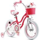 RoyalBaby: StarGirl bicikli - 14, rózsaszín