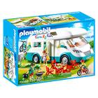 Playmobil: családi lakókocsis kempingezés - 70088