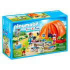 Playmobil: családi kempingezés - 70089