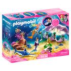 Playmobil Magic: Set de joacă Scoică lumină de veghe -70095