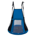 Spartan: Fészekhinta sátorral - 110 cm, kék