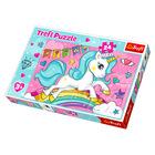 Trefl: Unicorn drăguţ - puzzle maxi cu 24 piese
