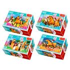 Szilaj, a szabadon szárnyaló: 54 darabos mini puzzle - többféle