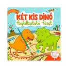 Carte educativă Kőszeghy Csilla Doi dinozauri mici - în limba maghiară