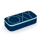 Oxy bedobós tolltartó - sötétkék-pasztell kék