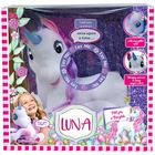 Luna mesélő unikornis plüssfigura