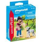 Playmobil Special Plus - Mama cu copilul și câinele 70154