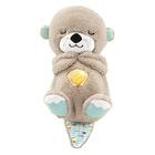 Jucărie bebeluşi Vidră de pluş liniştitor, Fisher-Price