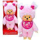 Monchhichi: cseresznyevirág lány plüssfigura - 20 cm