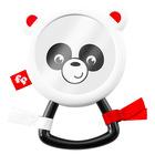 Fisher-Price: pandás, tükrös csörgő