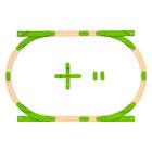 Set de joacă Track Pack, Wonder Makers Design System Build it Up!