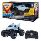 Maşinuţă cu telecomandă Megalodon, Monster Jam RC - 1:24