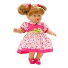 Loko: hajas baba nyári ruhában - 39 cm