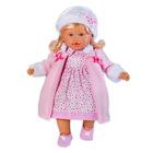 Loko: hajas baba téli ruhában - 39 cm