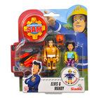 Sam, a tűzoltó: 2 darabos figura - Elvis és Mandy