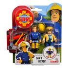 Set cu figurine Pompierul Sam, Sam şi Trevor