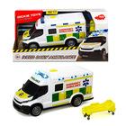 Dickie: Iveco Daily mentőautó fénnyel és hanggal - 18 cm