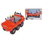 Jucărie Vehicul Hydrus cu figurină Sam, Pompierul Sam - 20 cm