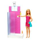 Barbie: Fürdőszoba szőke hajú Barbie-val
