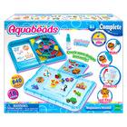 Set creativ Aquabeads - Studio pentru începători, albastru