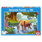 Puzzle Schmidt Caii lângă pârâu, 150 de piese