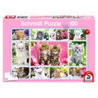 Puzzle Schmidt Pisici, 100 de piese
