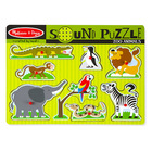 Melissa and Doug: állatkert hangos puzzle