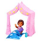 Barbie Skipper: Bébiszitter pizsama party szett kislány babával